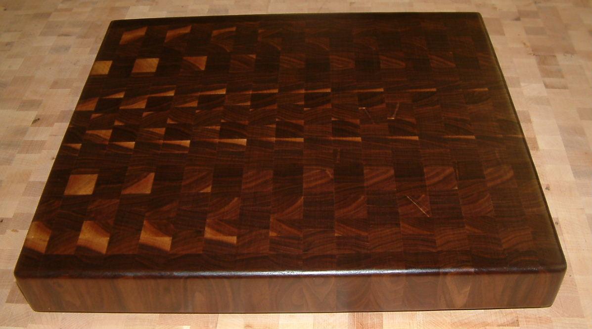 black walnut cutting boards, Kitchen design