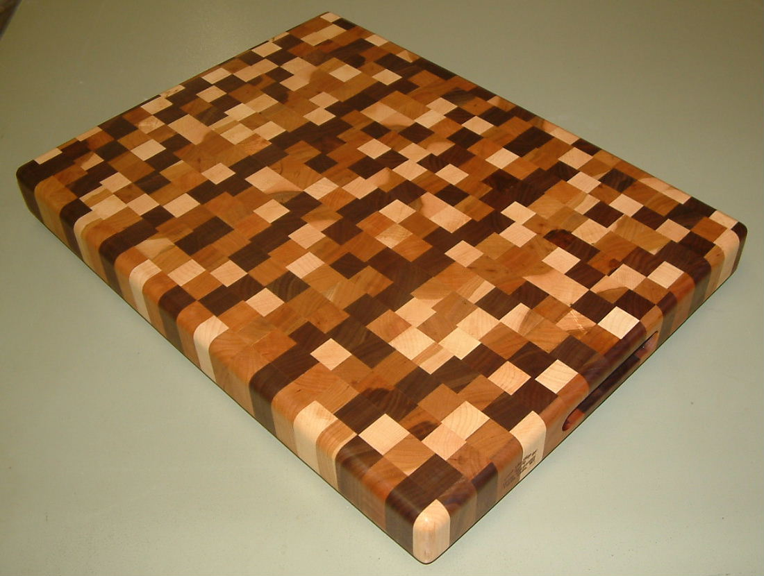 Woodworking End grain cutting board design program Plans ...